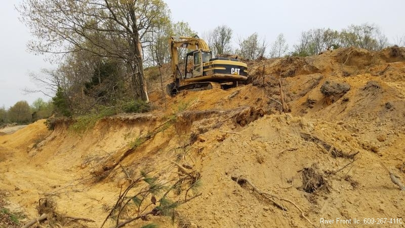 Land Clearing Photos New Jersey